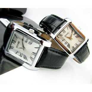 SINOBI 2012 New Arrival_Roman Numerals Artificial Crocodile Skin Wristwatch WITH GIFT BOX_FREE SHIPPING_wholesale&retail