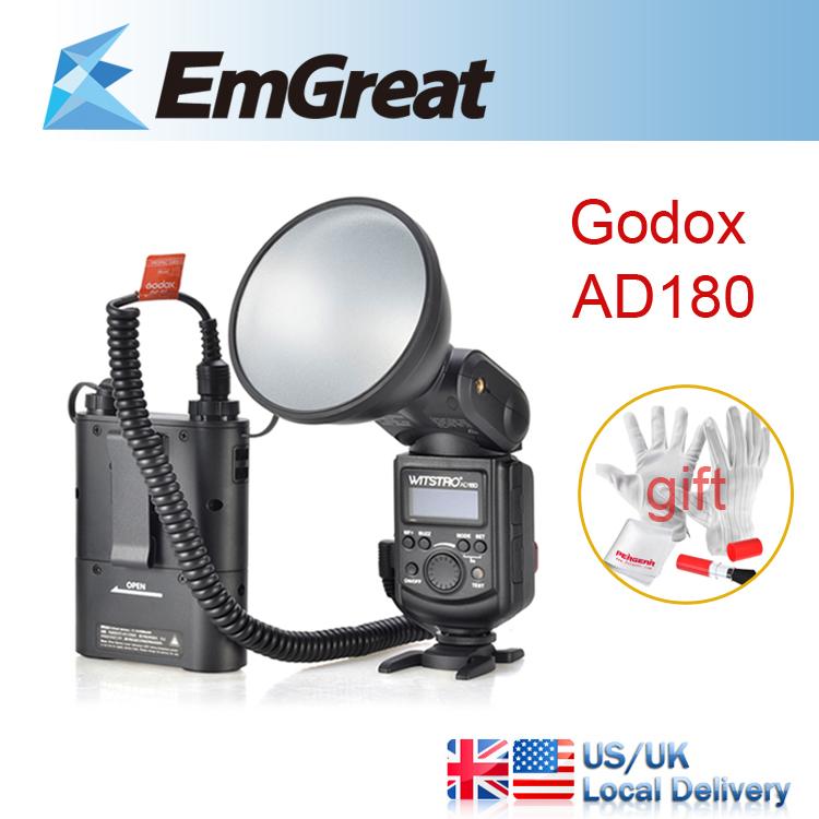 GODOX WITSTRO Advanced Flash AD180 180W External Portable Flash Light Speedlite + PB960 4500mAh Lithium Battery Pack + Gift(China (Mainland))