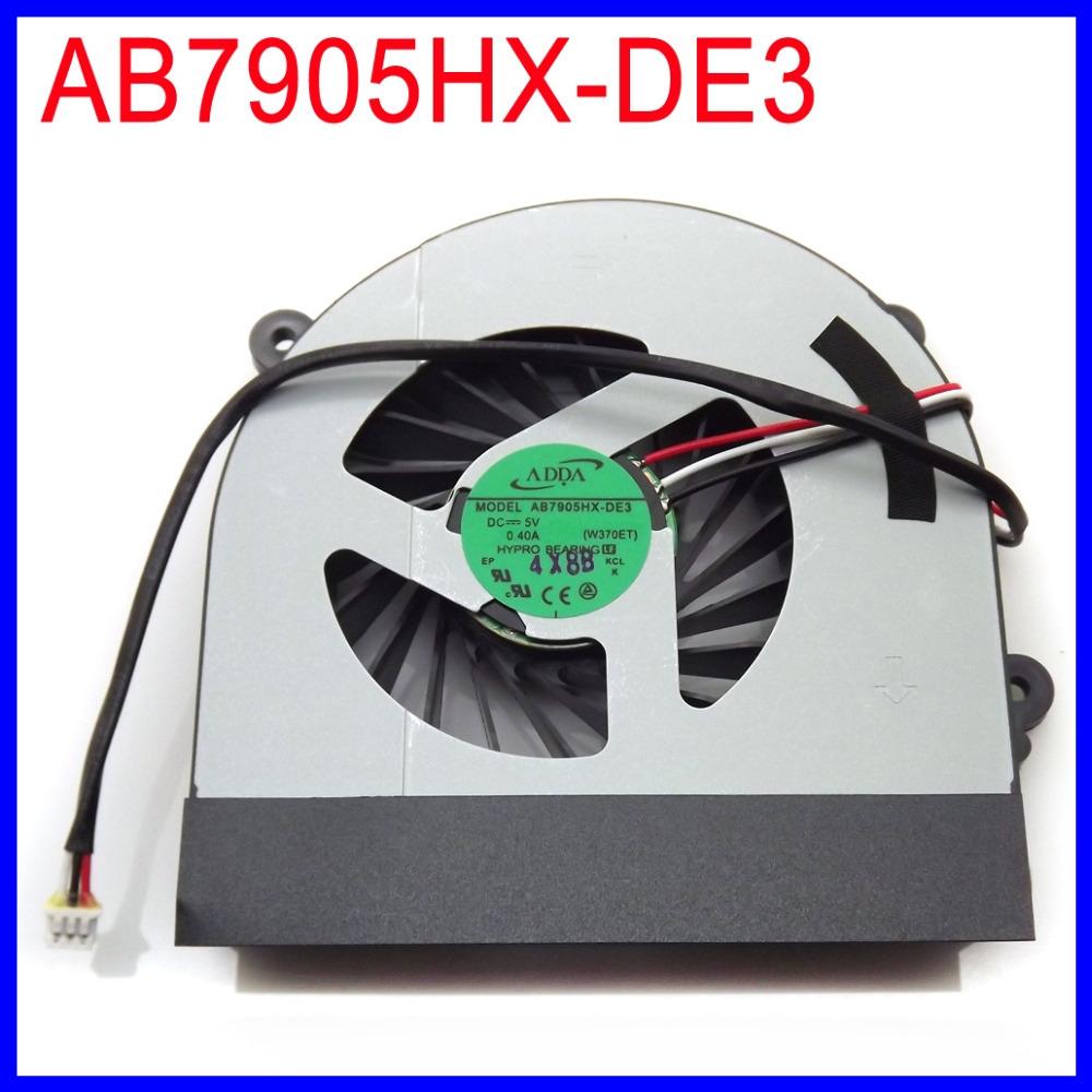 Охлаждение для компьютера Adda ab7905hx/de3 6/31/W370S/101 DC5V 0.40A Clevo W370ET W370S W350ETQ W350STQ W370St W350ET AB7905HX-DE3 kid s box 2ed 6 ab online resources