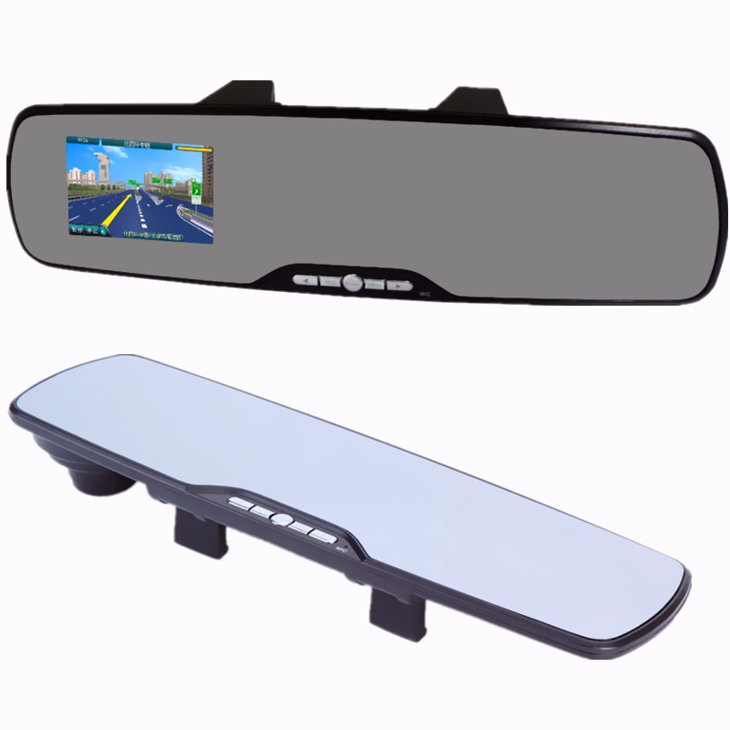 1080P Full HD Infrared Night Vision G-sensor Car Rearview Mirror DVR Camera Cam Camcorder Video Recorder - Multi Languages(China (Mainland))