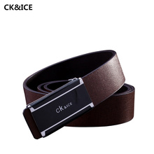 Buy New 2017 Male Belt Brand Fashion Cow Split Leather Belts Men Alphabet Smooth Buckle Casual Mens Luxury Belts for $8.57 in AliExpress store