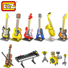 Buy LOZ DIY Diamond Blocks Musical Instrument Mini Building Blocks Kids Educational Toys Mini Blocks Building Toys Action Figure for $7.99 in AliExpress store
