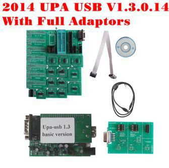 Free Shipping Newest UPA 2014 UPA USB Programmer UPA USB V1 3 21 Adapter Popular Universal