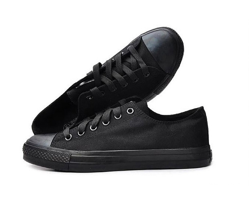 2016 Classic women canvas shoes Comfortable non-slip military men black canvas shoes / Spring and Fall plimsolls and work shoes(China (Mainland))
