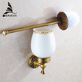New Arrival European Luxurious Bathroom Accessories Antique Bronze Toilet Brush Holder Bath Products High Quality 3709F