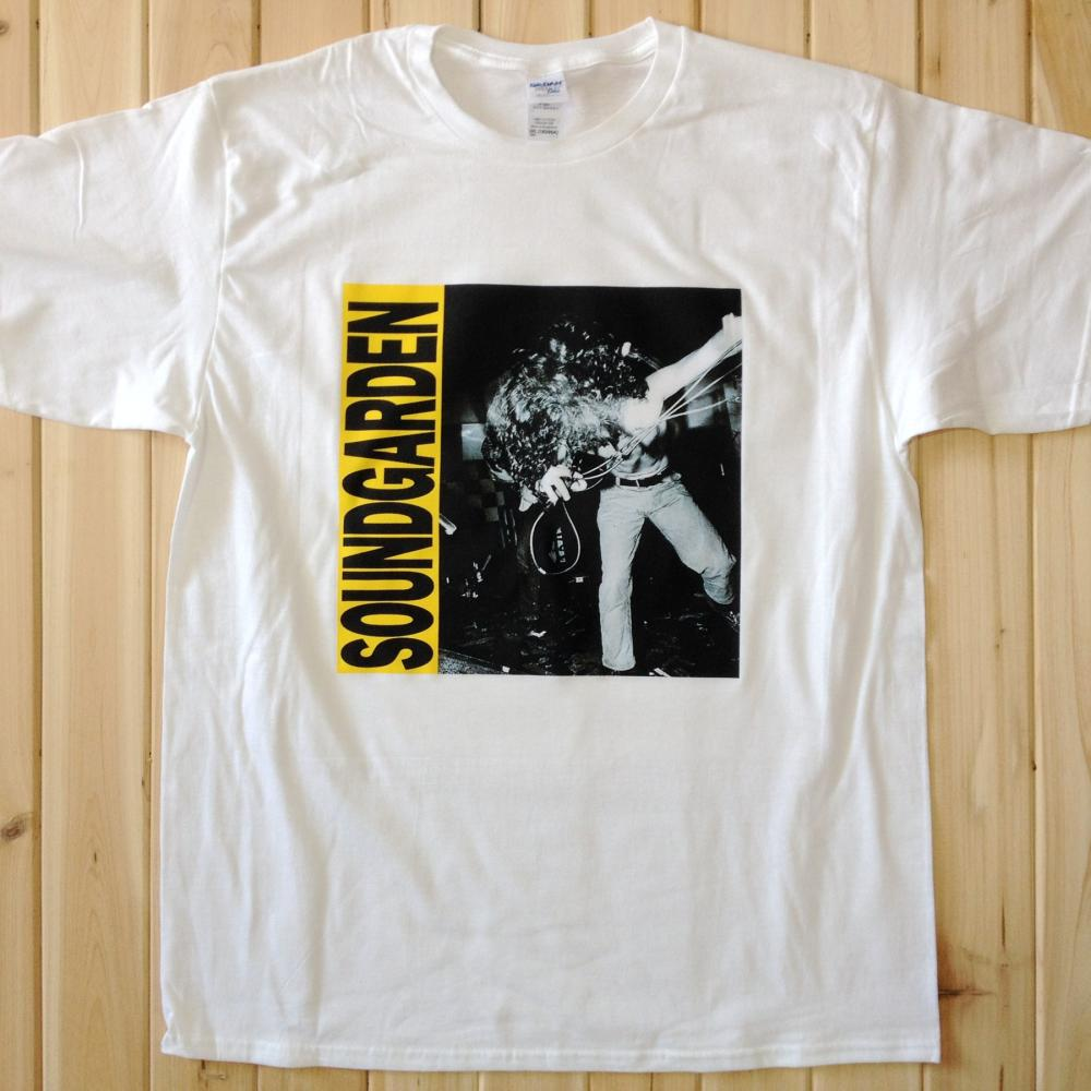 Soundgarden live show rock music band tee t shirts unisex for Band t shirts for men