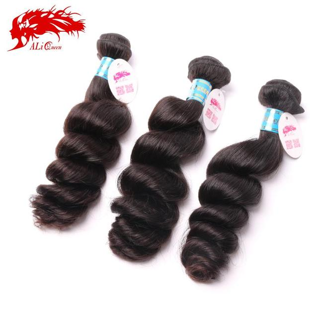 Unprocessed Grade 6A Peruvian Loose Wave Hair Virgin Hair Weaving 3Pcs Lot, Cheap Virgin Peruvian Loose Wave Hair