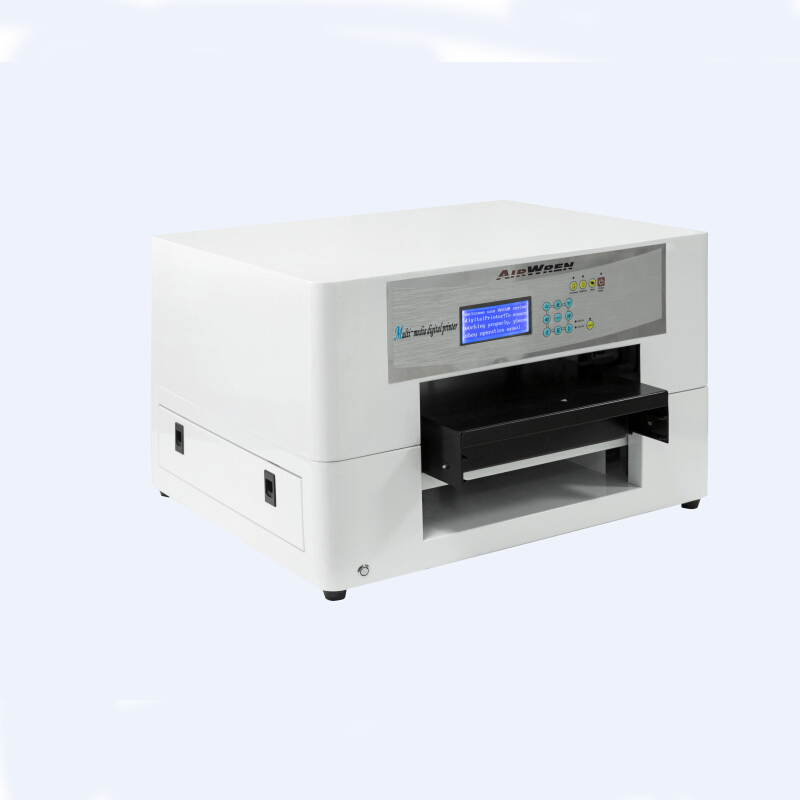 New A3 Uv Flat Inkjet Printer Machine in Candle ,Ceramic tile ,Acylic with Embossed Effect(China (Mainland))