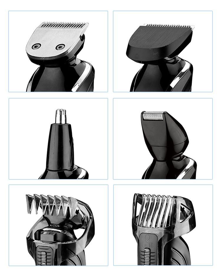 Kemei1832 новый резак электрический машинка для стрижки волос аккумуляторная триммер бритва аккумуляторные регулируемые когтерез бесплатная доставка