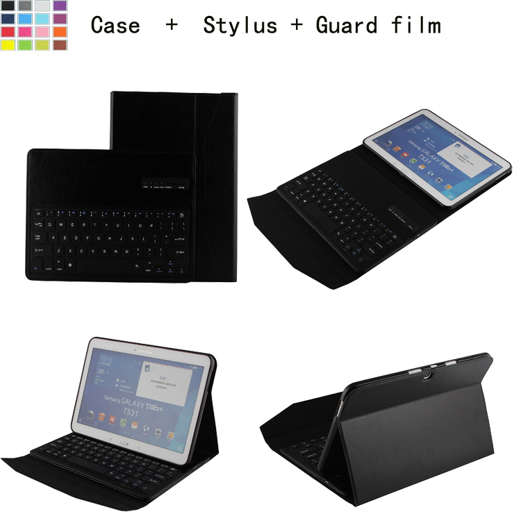 Здесь можно купить  For Samsung Galaxy Tab 4 10.1 Inch T530 PU Leather Protective Case Cover & ABS Detachable Removable Wireless Bluetooth Keyboard For Samsung Galaxy Tab 4 10.1 Inch T530 PU Leather Protective Case Cover & ABS Detachable Removable Wireless Bluetooth Keyboard Компьютер & сеть