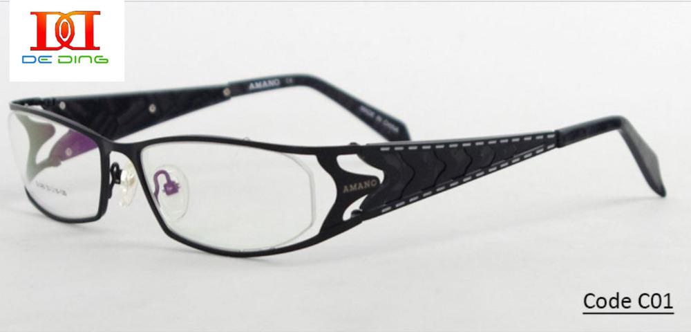 2014 Eyeglasses Frames New Style Full Rim Wide Temple ...