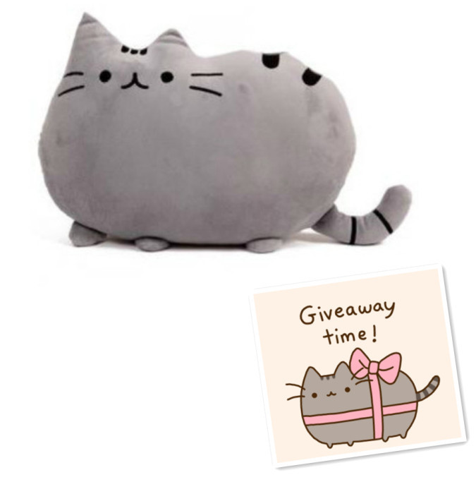Pusheen shape Cat big pillow cushion biscuits Gray and White Colors pusheen plush toy doll gift Sofa Decoration Home Decor(China (Mainland))