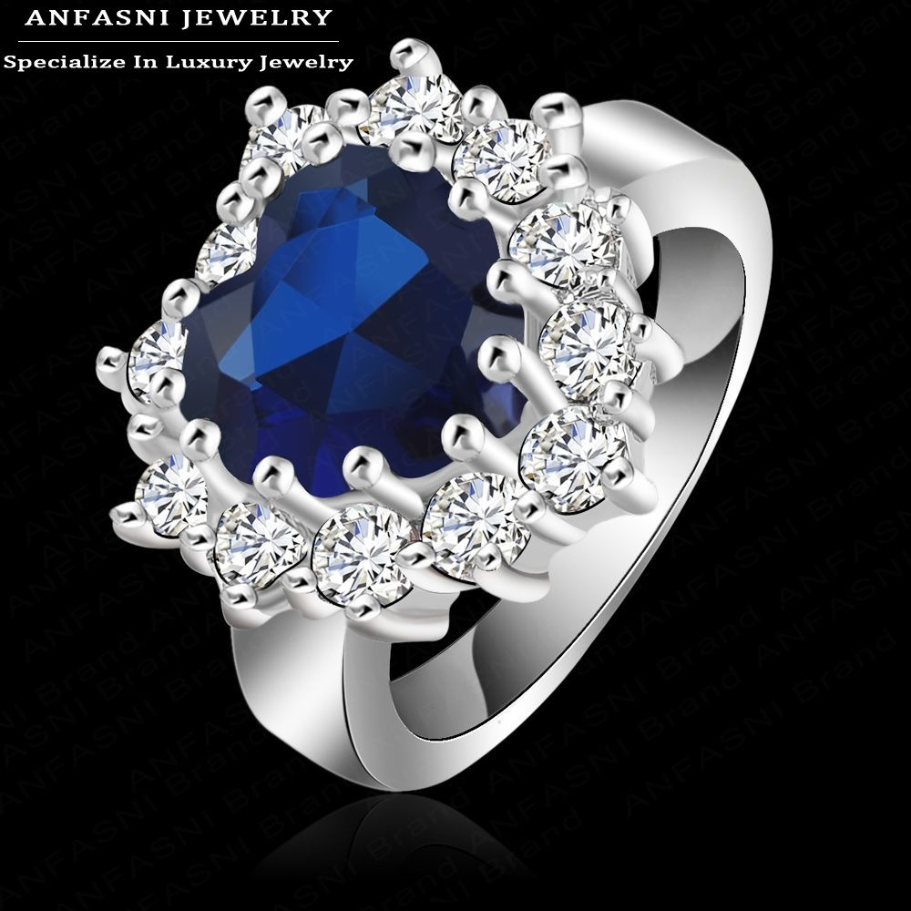 Buy ANFASNI Free Shipping High End Gift Jewelry Rings Plated
