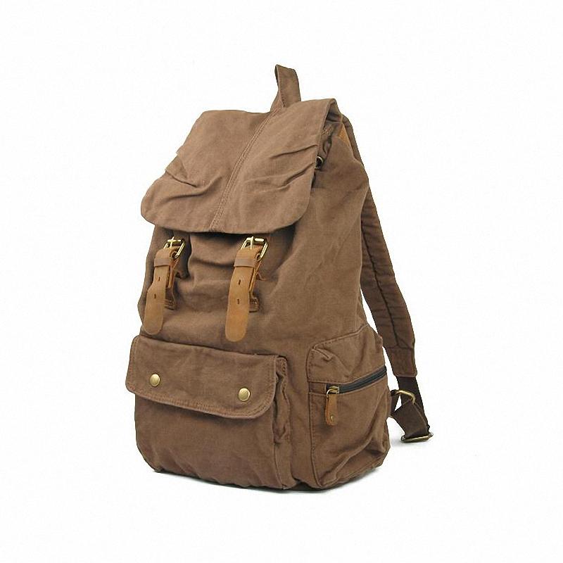 Vintage Canvas Backpack Rucksack mountaineering Man/ Women /school backpack SLR camera bag LI-831 - Bags4u Store store