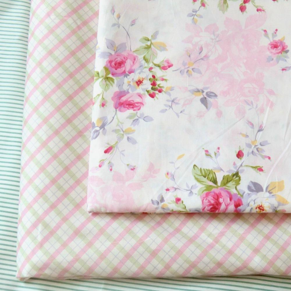 New 160cm*1yard pink peony patchwork fabric cotton...