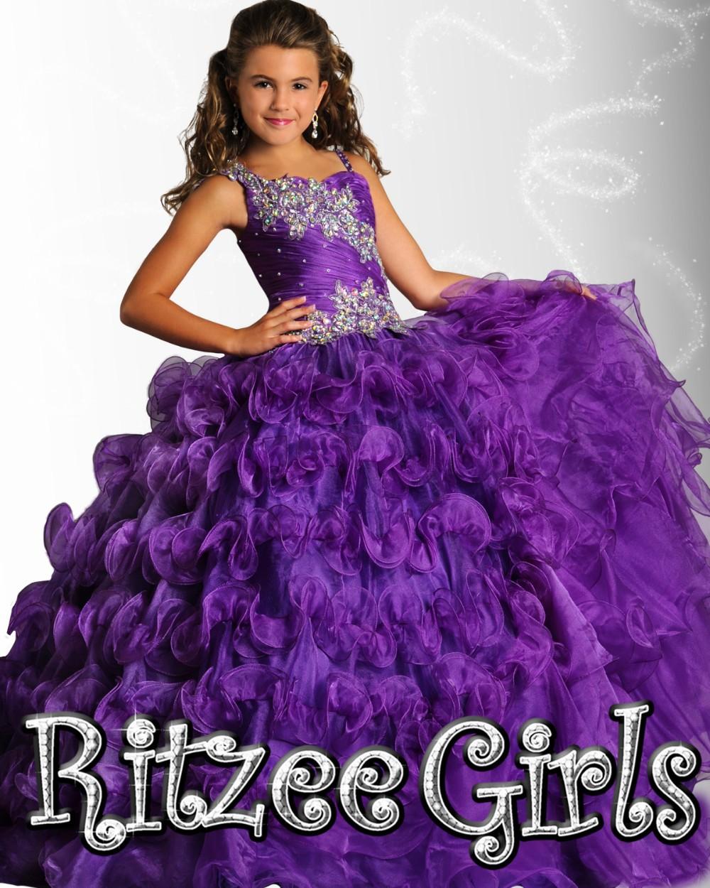Dresses for girls 10-12 purple 2017