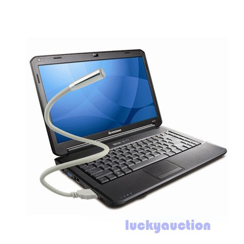 Portable PC Notebook Laptop Computer Keyboard USB LED Lamp Flexible Light 2Color(China (Mainland))