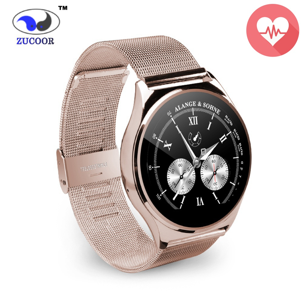 ZW17 Round Smart Watch IPS LCD Screen Heartrate Monitor Smart WristWatch Better Than U8 DZ09 GT08 K88H V360 for IOS Android(China (Mainland))
