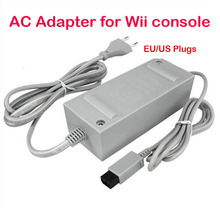 US/EU Plug 100-240V DC 12V 3.7A Home Wall Power Supply AC Charger Adapter Cable for Nintendo Wii Console Host +Tracking Number