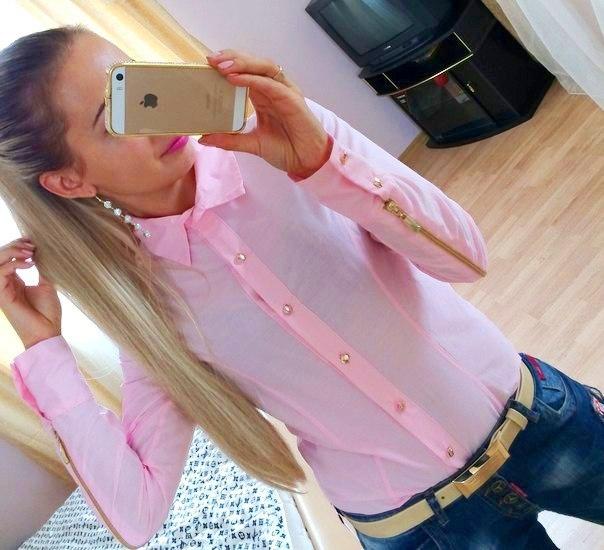 Женщины лето сделано блузы офис-леди полный
