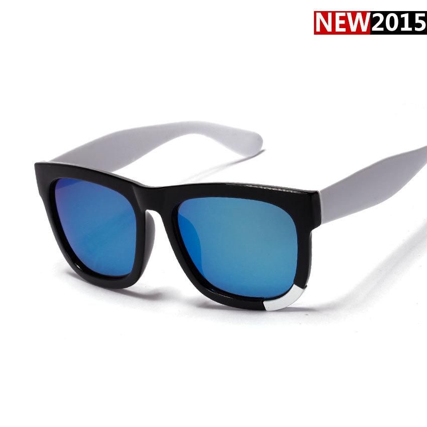 New Korean brand Lee MinHo Handmade Sunglasses GD UNISEX square sun lenses spectacles frames metal decoration shades White UV400(China (Mainland))