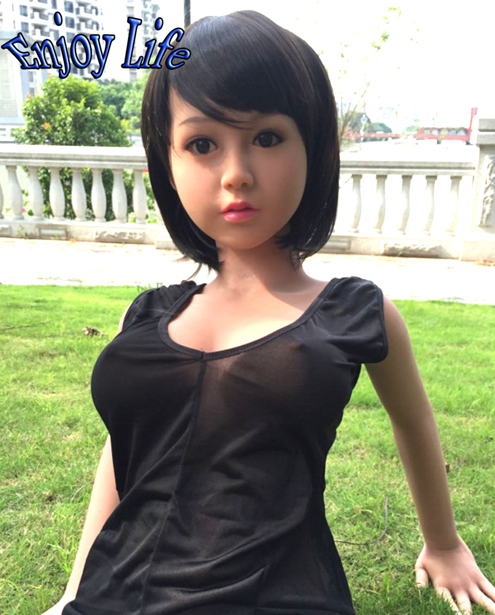 New 140cm Lifelike Real Silicone Solid Sex Dolls With Skeleton Japanese Artificial Pussy Large Breast Rirey Oral Sex Doll(China (Mainland))