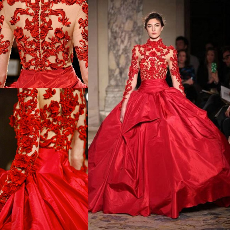 New Arrival High Neck Red Quinceanera Dresses 2015 Ball ...
