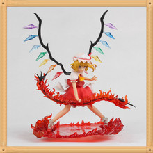 TouHou Project Figure DEMON Flandre Scarlet RED Sword PVC Action Figure TouHou Project Model Toy