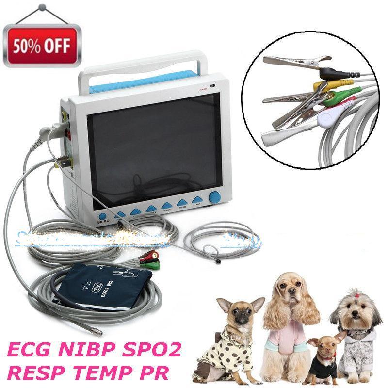 CE FDA Contec CMS8000 Vet Multi-parameter Veterinary Patient Monitor for Animals