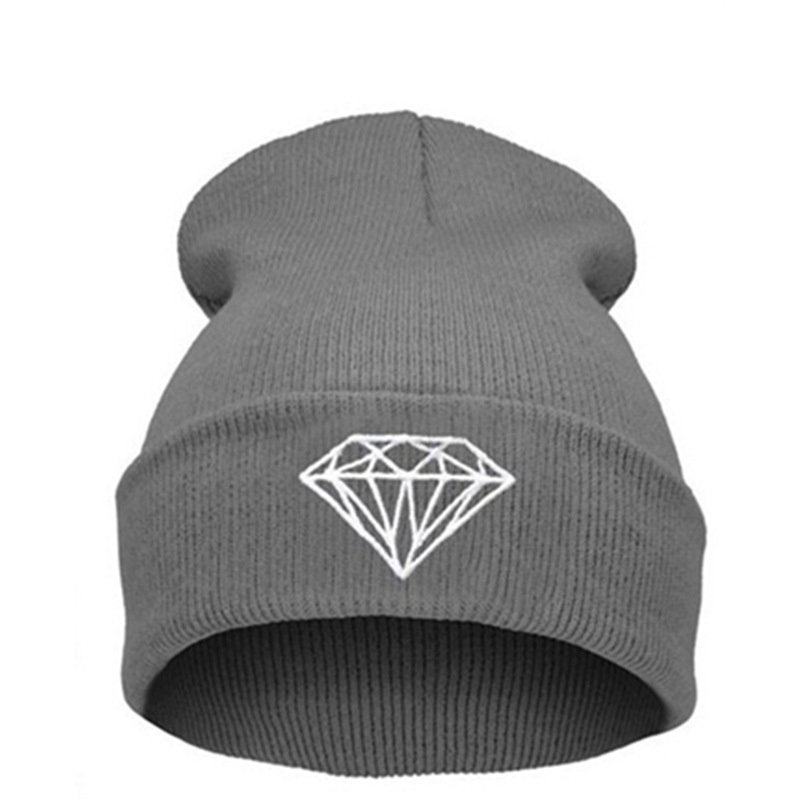 HOT SALE !!!New Fashion , Beanie Diamond Touca Gorro Winter Hat Beanies Skullies For Men Women Toucas De Inverno Gorros BonnetsОдежда и ак�е��уары<br><br><br>Aliexpress