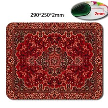 Persian Carpets Style Design Costom Mouse Mat High Quality Skid Durable Fashion Computer and Laptop Mouse Pad(China (Mainland))