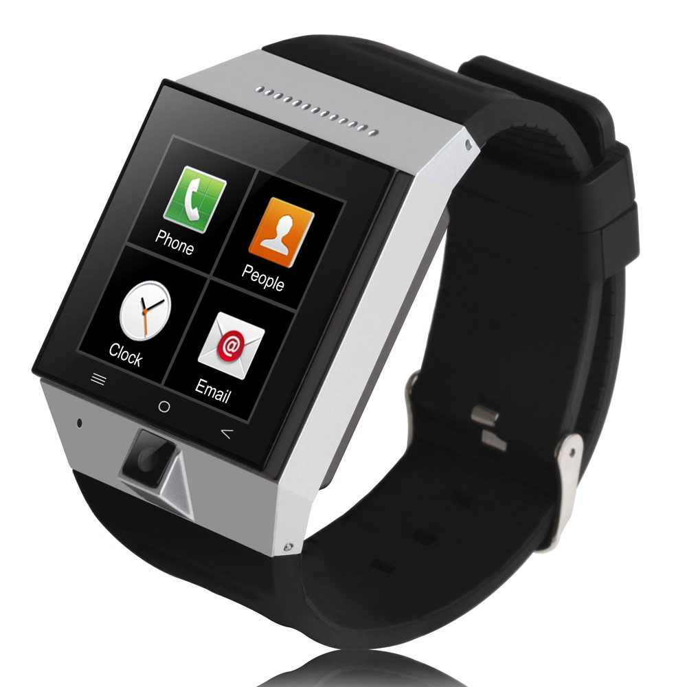 Camera Phone Watches Android popular mp4 watch phone buy cheap lots from china zgpax s55 3g smart android 4 bluetooth 0 512m ram4g rom 2mp