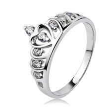 2015 Hot Crown ring, fashion tail ring ZJ205