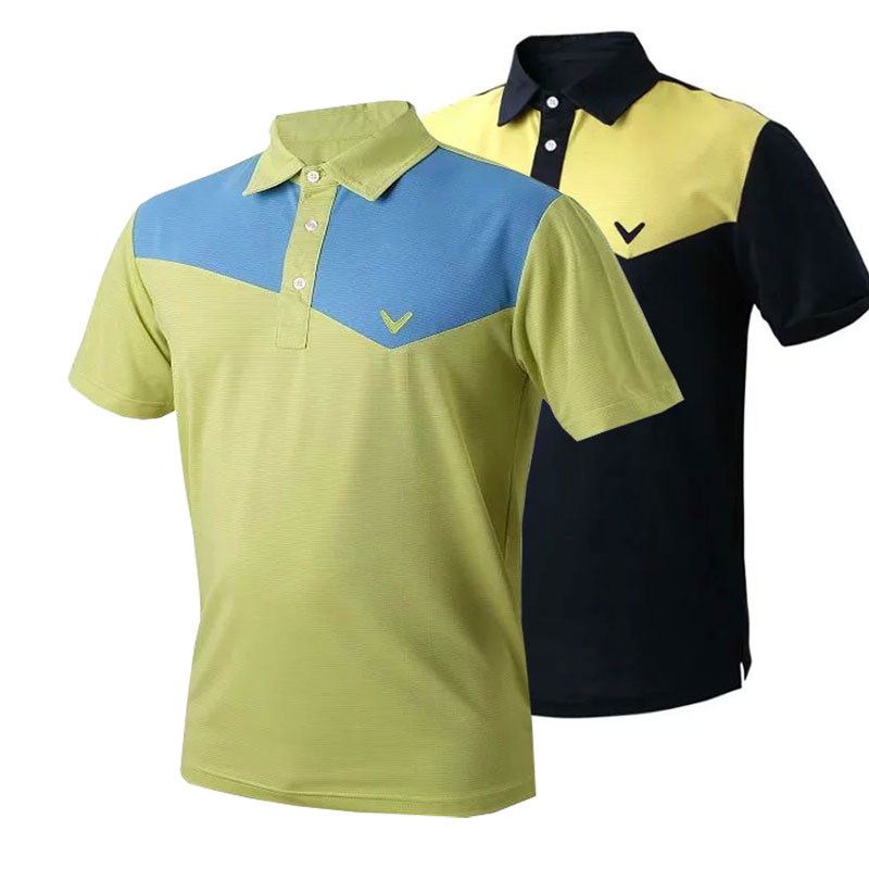 New mens Golf clothing long sleeve Golf Sport T-shirt S-XXL 8 colors for summer Casual wear Free shipping(China (Mainland))