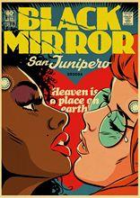 Черное зеркало BBC сезон ретро-постер к фильму стиль печатных постеры для бара Кафе Декор комнаты стены Stciker(China)