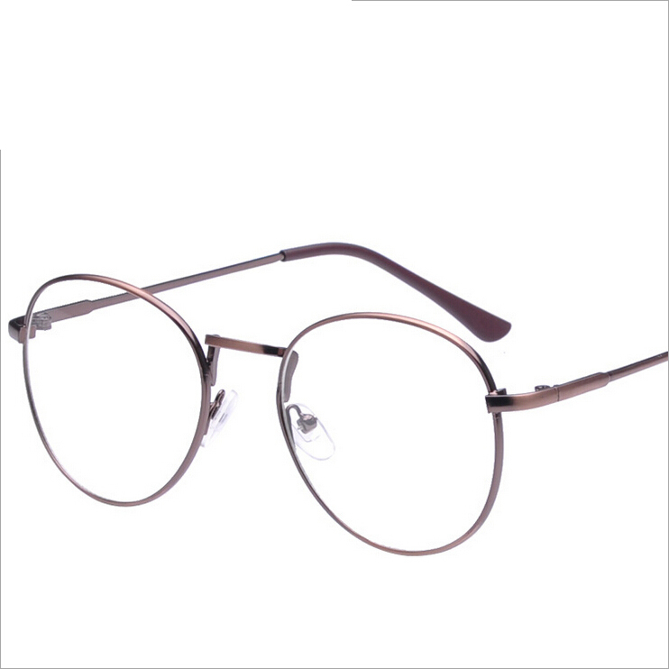 new oversized spectacle optical frame metal gold