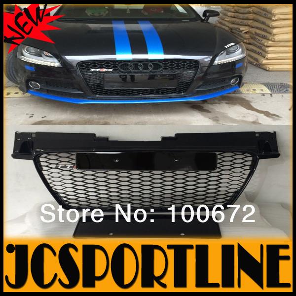 08-14 ABS Painted Car Bumper Grille, Mesh Grille TTS TTRS Grill SFG Race Grille 8J Black For Audi (Fits AUDI TT 08-14)<br><br>Aliexpress