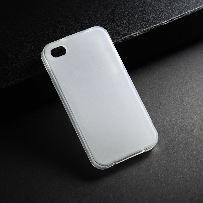 Silicone Soft Cases For Apple iPhone4G 4 4S 44S TPU Case Back Cover For iphone4 5C iphone 4S 5C Phone Case Covers White Shell(China (Mainland))