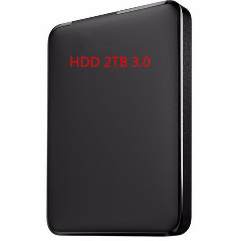 New 2016 HOT Externo 1TB 2TB 2.5 usb3.0 Sata Hard drive disk 2TB HDD 3.0 external mobile hard disk Free shipping(China (Mainland))