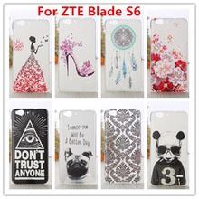 Zte лезвие S6 чехол / люкс кристалл алмаза 3D шику твердый переплет пластиковый чехол для ZTE лезвие S6 ( 5 дюймов ) сотовый телефон чехол
