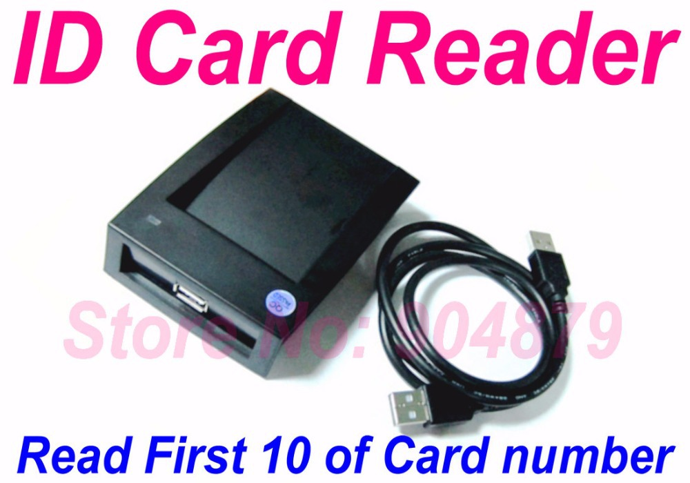 Lowest Price Free replacement Payroll software USB RFID Proximity Smart Card Reader Black 125Khz EM4100 compatible RFID, - Security Technology Co.,LTD store
