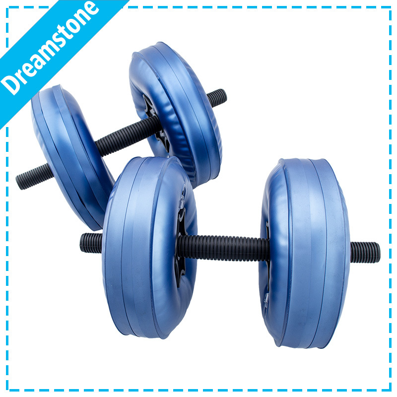 free shipping body building adjustable water dumbbell safe female dumbbell Water-filled lose weight dumbbell portable equipment(China (Mainland))