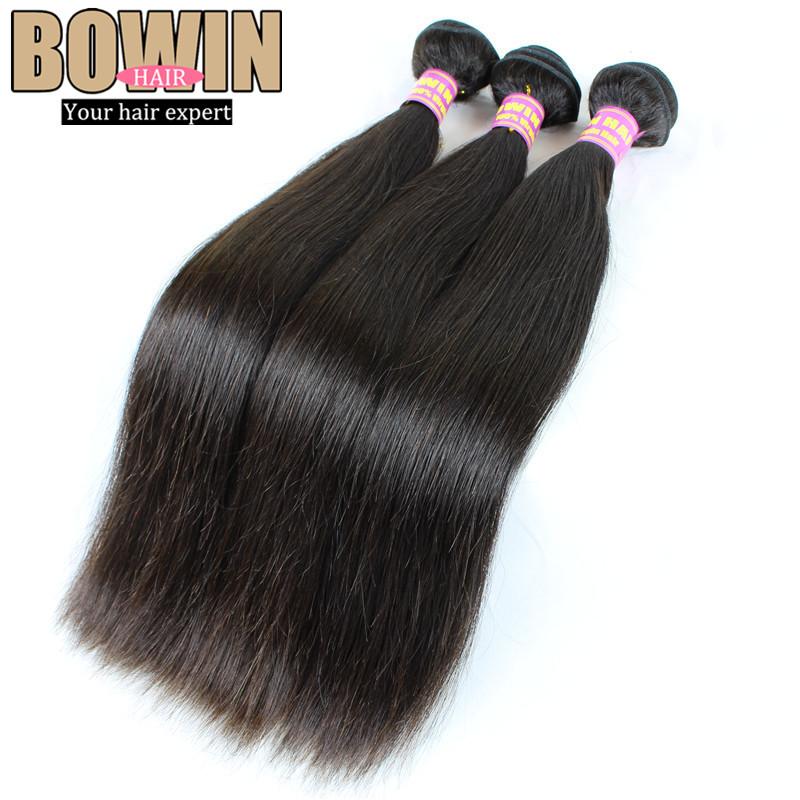Queen Hair Unprocessed Brazilian Virgin Hair Straight 3pcs lot Cheap Brazilian Hair Free shipping Human Hair Weave straight<br><br>Aliexpress
