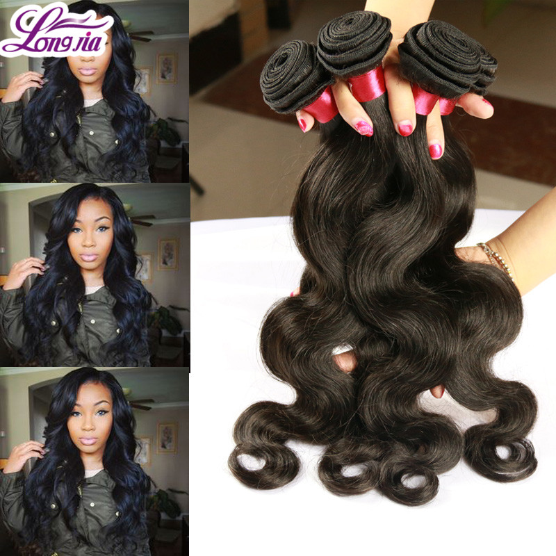 Star Style Hair Brazilian Virgin Hair Body Wave 3PCS Lot 8A Brazilian Virgin Hair Wet And Wavy Virgin Brazilian Hair Tangle Free<br><br>Aliexpress