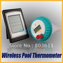 Últimas inalámbrico Digital LCD piscina Bath Spa temperatura del termómetro transmisor + receptor * H51