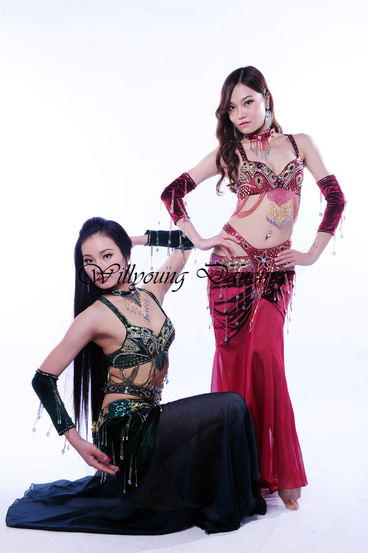 2014 New High Quality Handmade Egyptian Belly Dance ...