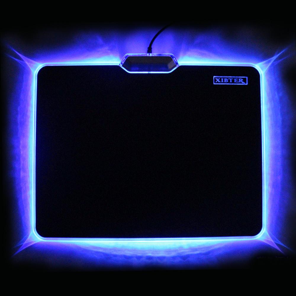 Blue light mouse pad
