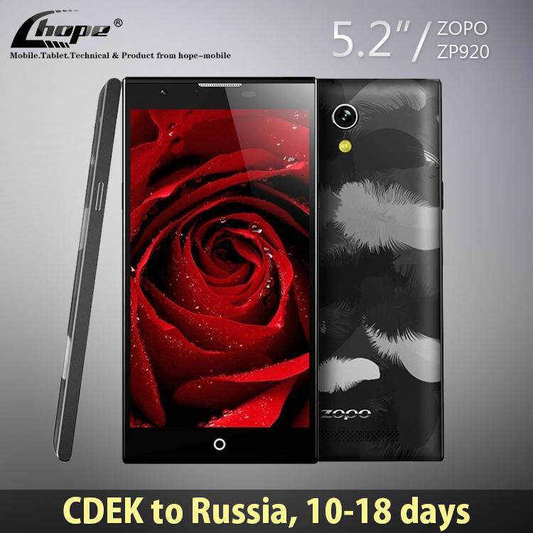 Original ZOPO ZP920 Magic 5.2'' 1920*1080 MTK6752 Octa Core 4G FDD LTE Cell Phone Android 4.4 2GB RAM 16GB ROM 13.2MP OTG GPS(China (Mainland))