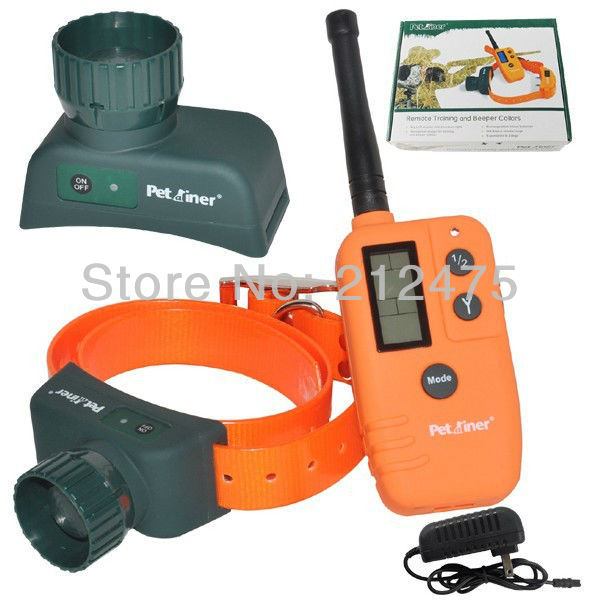 New 9 Tone and 3 Run modes Waterproof and Rechargeable 2 Dog Beeper Collar 500M Remote Control + 2Beepers Hunting Products(China (Mainland))