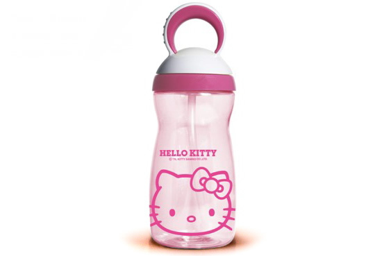Free shipping 350ml Eco-friendly Plastic travel kettle 2013 NEW ARRIVE KITTY/Doraemon PC Bottle Sport water bottles for children